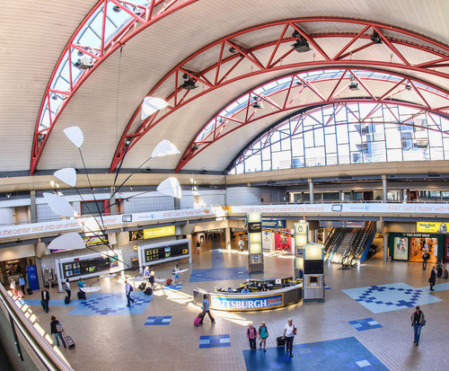 Pittsburgh International Airport Celebrates 20 Years of Service, Innovation and Growth in the Pittsburgh Region.  (PRNewsFoto/Allegheny County Airport Authority)