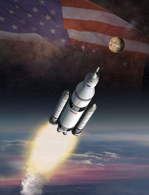 NASA and ATK have successfully completed two key avionics tests for the solid rocket boosters for the space agency's new heavy lift rocket, the Space Launch System, being constructed to embark on bold missions to explore deep space.  (PRNewsFoto/ATK)