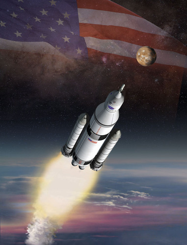 NASA and ATK have successfully completed two key avionics tests for the solid rocket boosters for the space agency's new heavy lift rocket, the Space Launch System, being constructed to embark on bold missions to explore deep space. (PRNewsFoto/ATK) (PRNewsFoto/ATK)