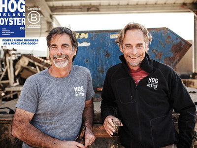 Hog Island Oyster Co. Joins B Corp Community. People Using Business As A Force For Good.