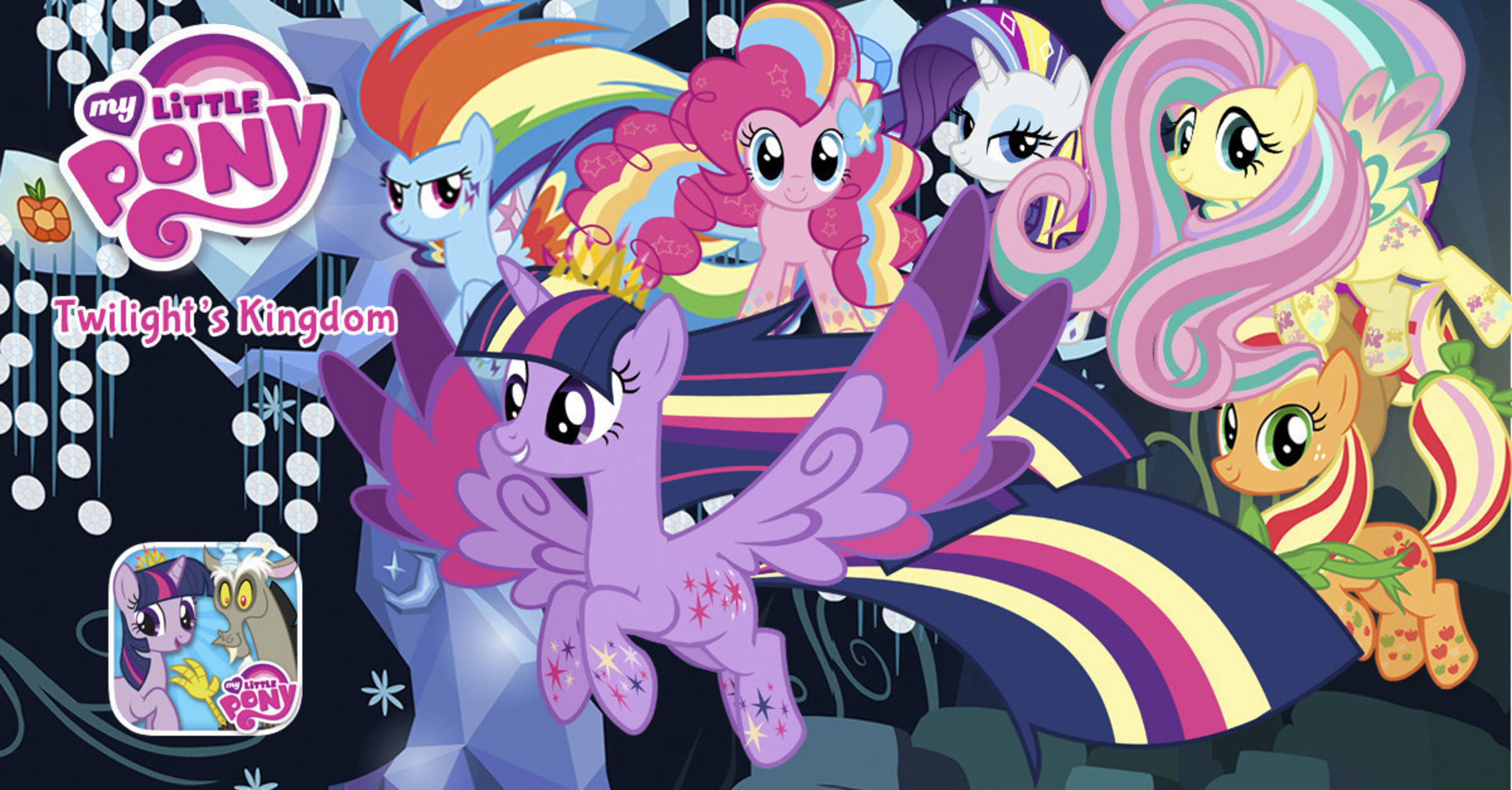 EQUESTRIA's Newest Princess Saves the Day in First Ever MY LITTLE PONY Deluxe Storybook App From