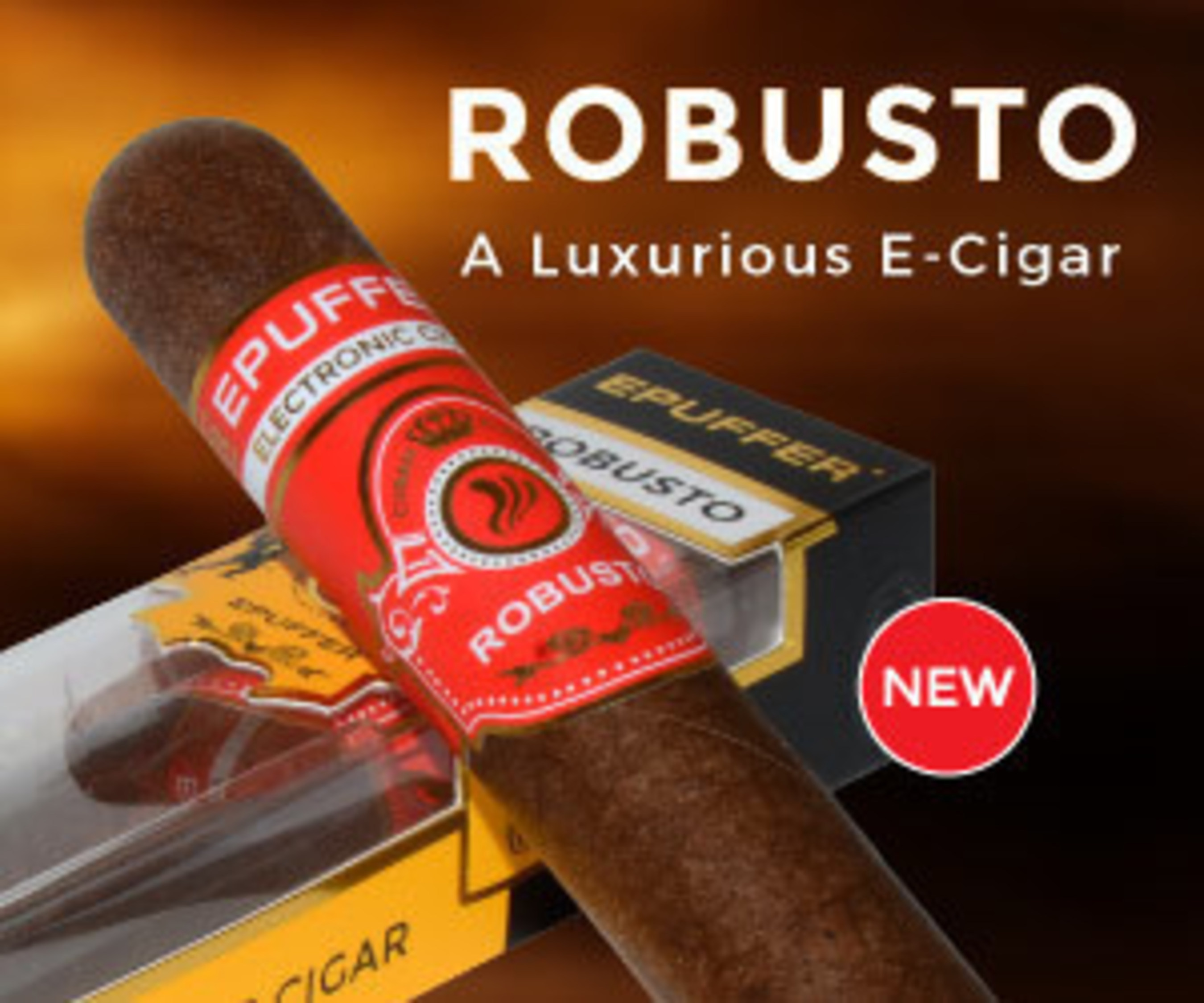 ePuffer Launch Bigger, Better, Lifelike Robusto eCigar Due to Popular Demand