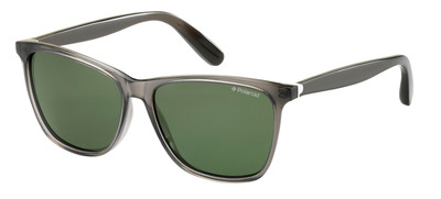 Polaroid Plus Collection, sunglasses model PLP 0107, color EZ5 grey, acetate.  (PRNewsFoto/Polaroid Eyewear)
