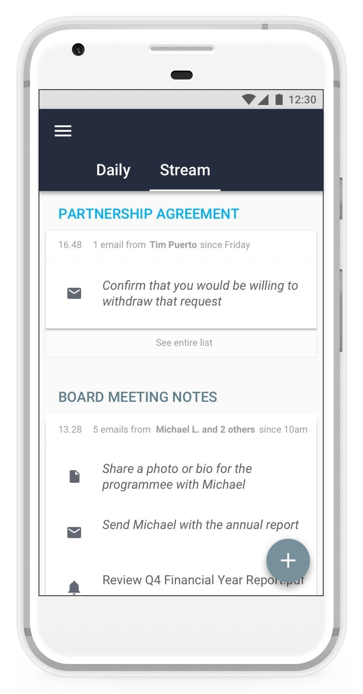 Sussex Place Ventures and SAATCHiNVEST Back Next Generation of Platform to Streamline Productivity with Machine Learning; First Product Released by Gluru on New Platform Tackles Daily Task Lists
