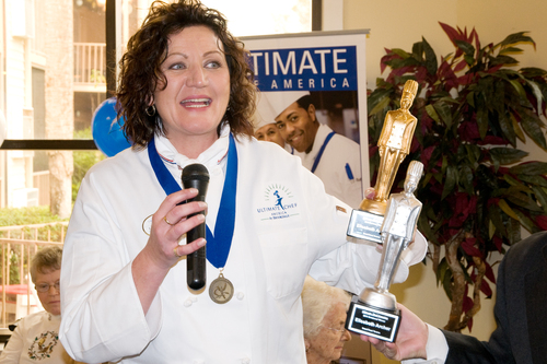 Chef Lisa Archer is the newly-crowned Ultimate Chef America for Brookdale Senior Living.(PRNewsFoto/Brookdale ...