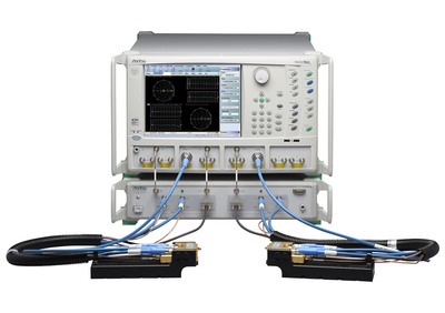 Anritsu VectorStar ME7838D is first broadband VNA system that operates from 70 kHz to 145 GHz in Single Coax Connection.  (PRNewsFoto/Anritsu Company)