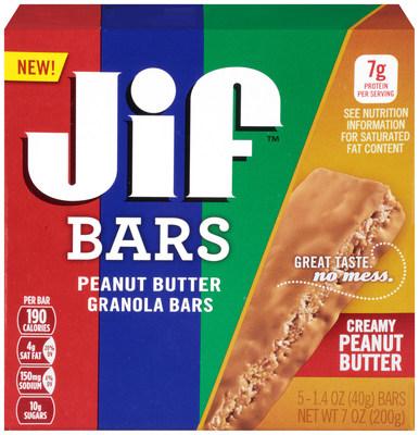 Jif Creamy Peanut Butter Granola Bars