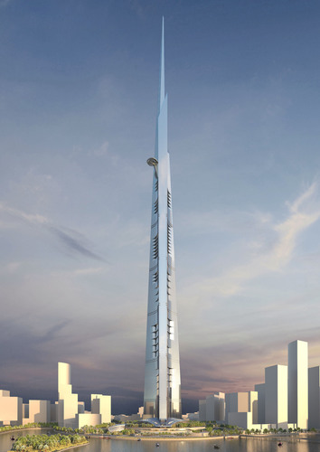 Prince Alwaleed Signs SR4.6Billion Contract for World's Tallest 1,000 meters Tower 1st Phase of