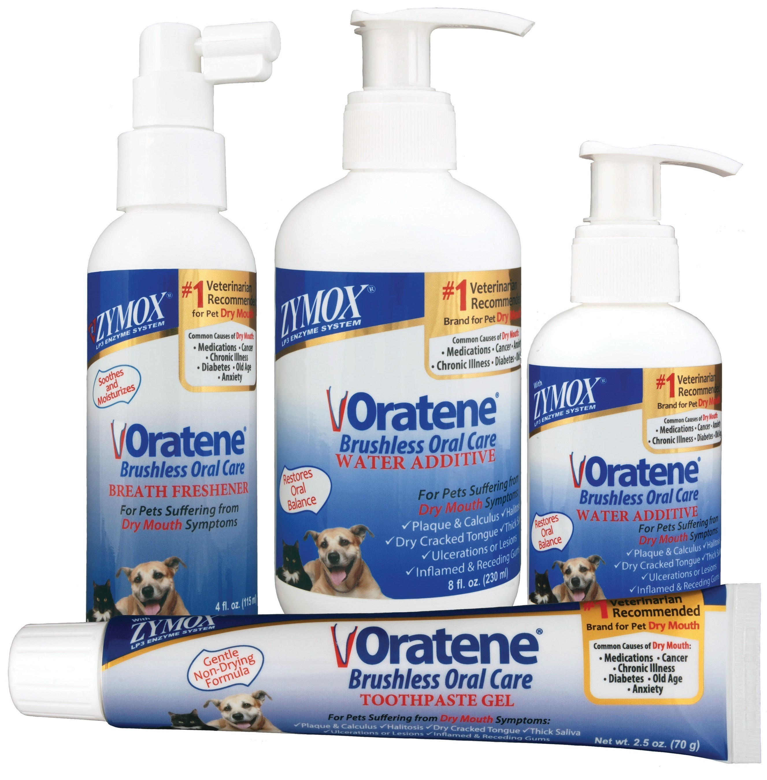 ZYMOX Oratene Brushless Oral Care for Pets