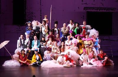 Sydney Festival 2014 Early Announcement Dido & Aeneas cast by Sebastian Bolesch. (PRNewsFoto/Destination NSW, Sebastian Bolesch)