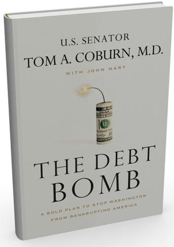 Oklahoma Senator Tom Coburn Set to Release New Book, The Debt Bomb