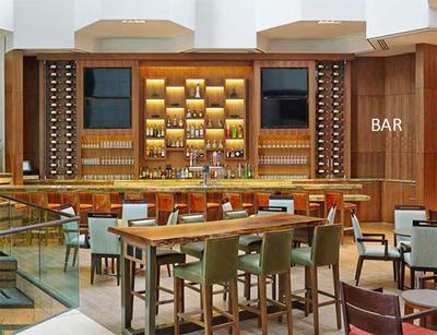 Lobby Bar at Westin San Diego.  (PRNewsFoto/DiamondRock Hospitality Company)