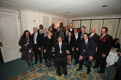 The 2015 Great Sports Legends Dinner Honorees to Benefit the Buoniconti Fund to Cure Paralysis on October 6, 2015 at the Waldorf Astoria in New York City.
