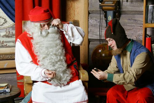 Santa Claus himself and Ferdie the Elf are happy to be able to meet friends from near and far on their new web site.