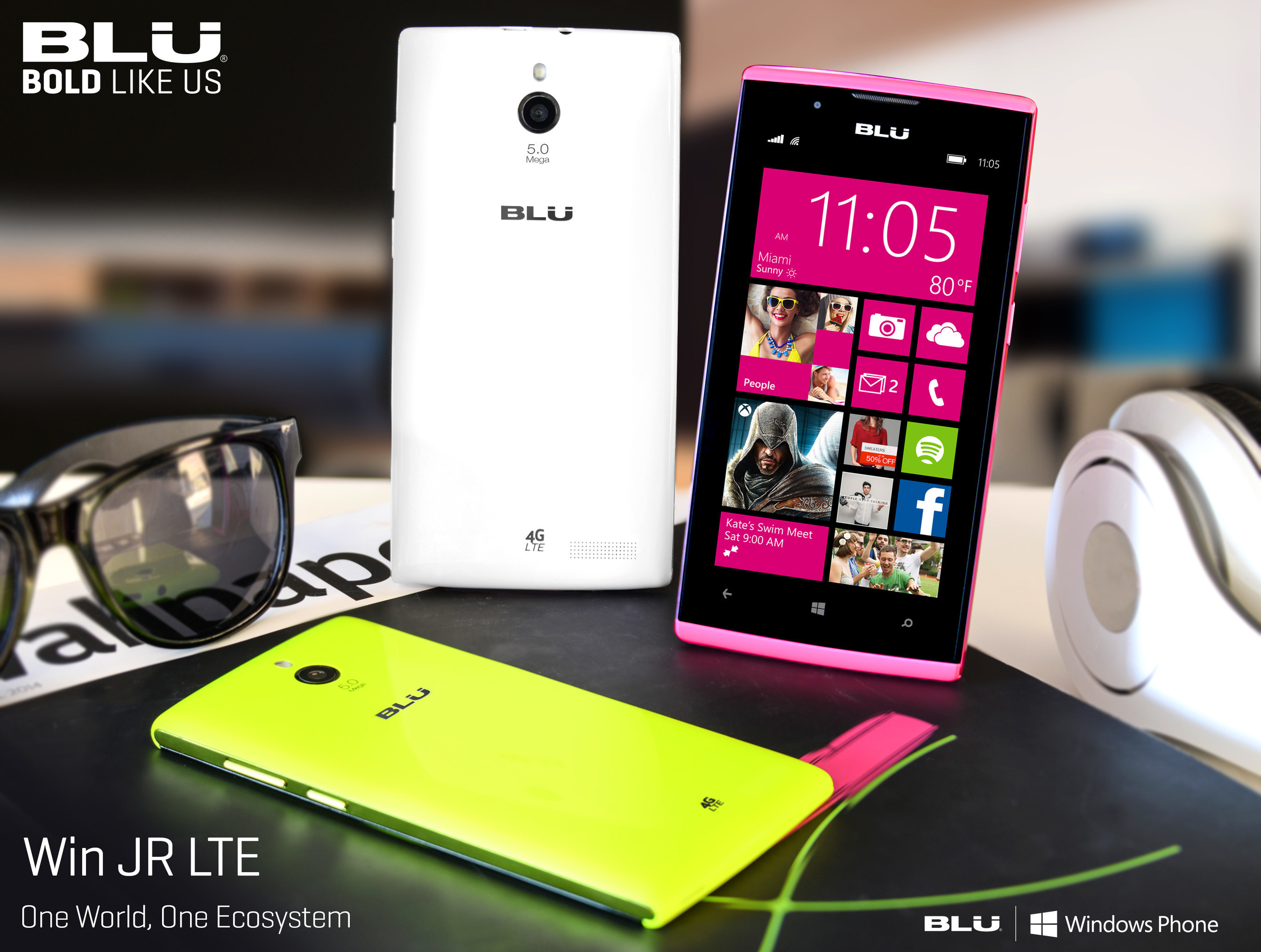 BLU Products Follows Up On Windows Phone Success with New 2015