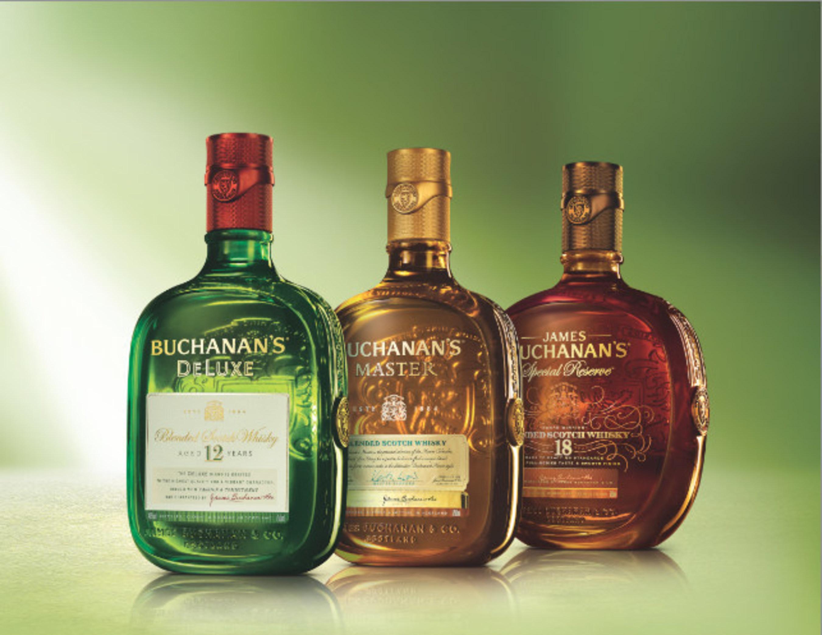 Buchanan's Scotch Whisky revela sus nuevas y modernas botellas