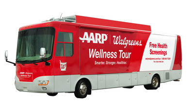 Walgreens and AARP Extend Free Health Testing Campaign Through 'AARP/Walgreens Wellness Tour'
