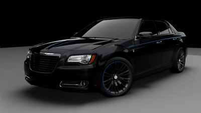 Chrysler Group LLC introduces Mopar '12, a custom Chrysler 300 that goes from 0-60 in the low five-second range.  2012 marks the 75th anniversary of Mopar, Chrysler Group's service, parts and customer-care brand.  (PRNewsFoto/Chrysler Group LLC)
