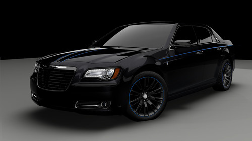 Chrysler Group LLC introduces Mopar '12, a custom Chrysler 300 that goes from 0-60 in the low five-second ...