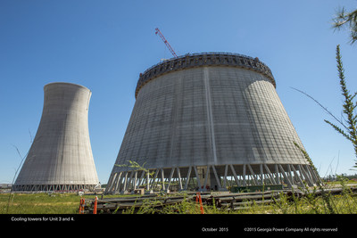Vogtle Cooling Towers for Unit 3 and 4