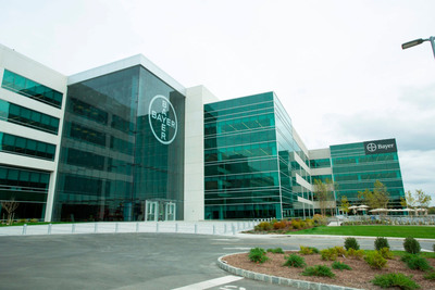 Bayer HealthCare opens new U.S. headquarters in Whippany, N.J., investing in the future of New Jersey. Situated on a 94-acre campus, the new headquarters brings together Bayer HealthCare's operations from three divisions that previously operated from separate locations, making Bayer the largest employer in Hanover Township.  (PRNewsFoto/Bayer HealthCare)