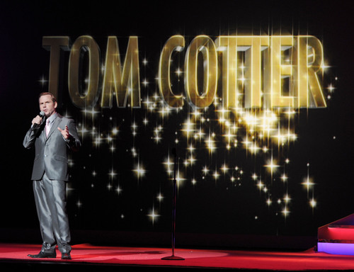 America's Got Talent Live in Las Vegas Returns to The Palazzo, featuring comedian Tom Cotter.  (PRNewsFoto/AEG Live)