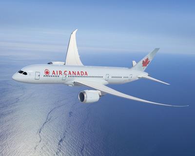 Boeing Dreamliner 787-8.  (PRNewsFoto/Air Canada)
