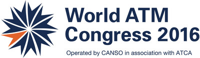 World ATM Congress 2016 official logo (PRNewsFoto/World ATM Congress)