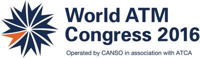 World ATM Congress 2016 official logo (PRNewsFoto/World ATM Congress)