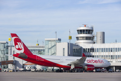 airberlin will serve Dallas Fort Worth International Airport with flights four times per week to Dusseldorf, Germany, starting May 6, 2016.