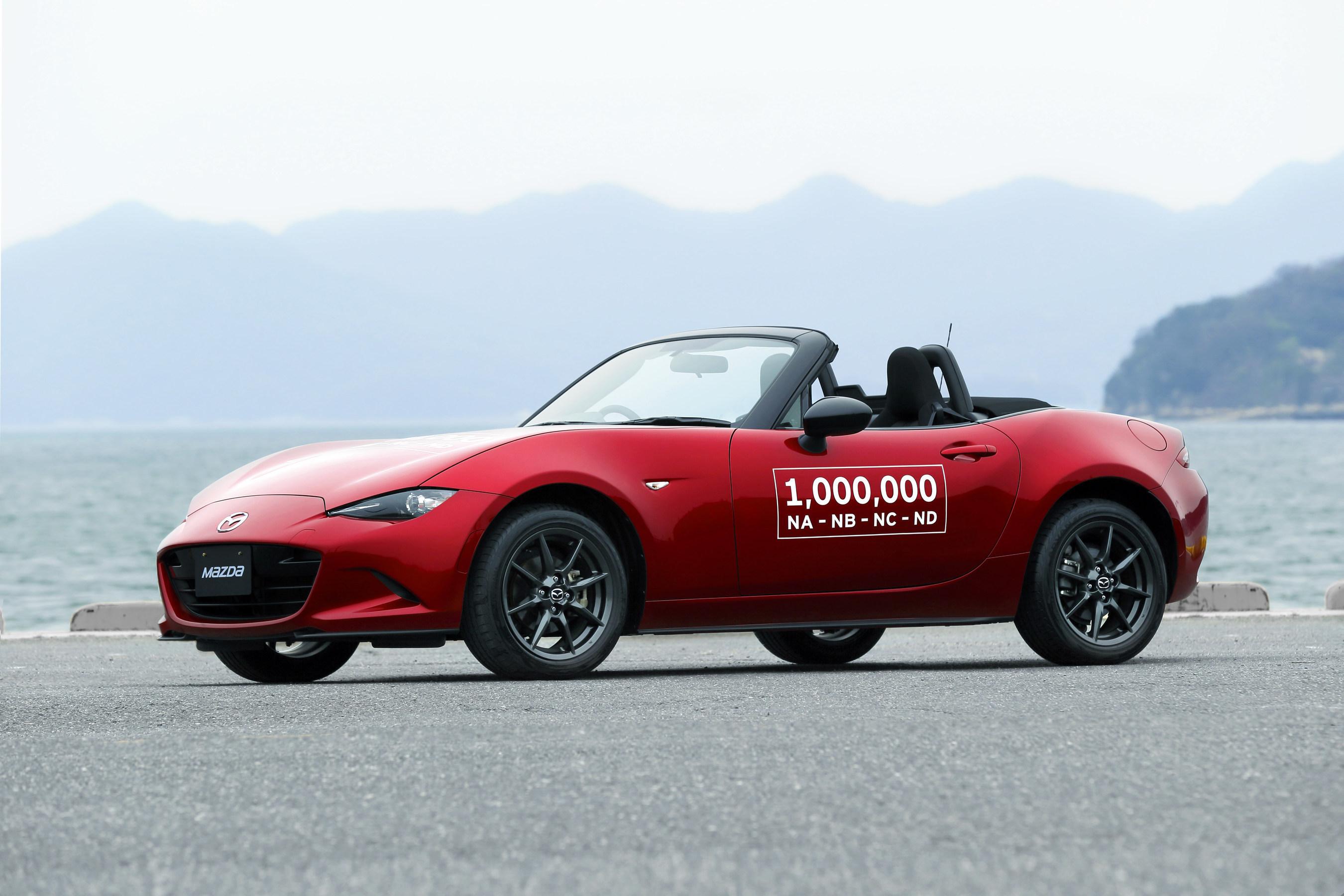 Mazda Announces Dates for Millionth Miata Celebration Tour