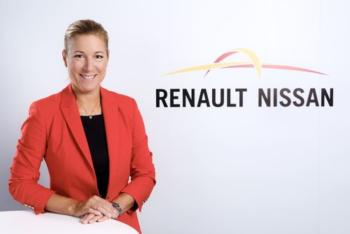 Catherine Loubier, credit Renault-Nissan Alliance and photographer Luc Perenom (PRNewsFoto/Renault Nissan ...