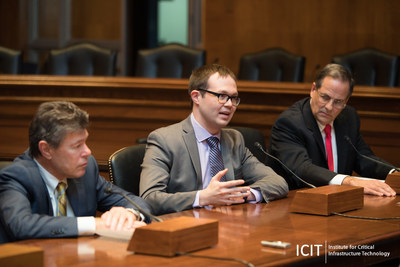 Robert Lord, Co-founder and CEO of Protenus, briefing the U.S. Senate on the valuation of health records and predictions on the future of healthcare cyber security.