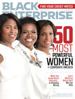 Aflac President of U.S. Teresa White (middle) is among Black Enterprise Magazine's 50 Most Powerful Women in Corporate America. Also on the magazine cover are Chase's Thasunda Brown Duckett (L) and GM's Alicia Boler-Davis (R).