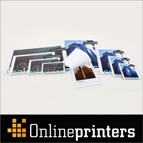 The German online print shop Onlineprinters GmbH offers a wide selection of templates for calendars and yearly planners. As eye catcher and office manager, calendars with logos and promotional prints are powerful advertising media that are present on 365 days of the year. High-quality paper, brilliant colours and practical design templates make the calendars a premium give-away. Copyright: Onlineprinters GmbH