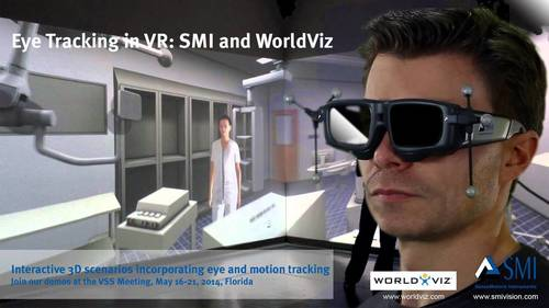 SMI and WorldViz bring eye tracking to virtual reality