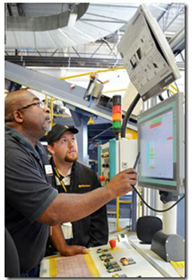 NMTC financed manufacturing facility in Sumter, SC is expected to create 1,600 new full-time, permanent jobs - 90 percent of which will be entry level. (PRNewsFoto/New Markets Tax Credit Coalition)