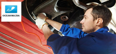 A mechanic who knows your car can rely on past vehicle history to help diagnose and repair.  (PRNewsFoto/Ocean Mazda)