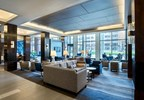 The newly renovated lobby in Boston Marriott Cambridge offers various seating options to work and relax. The lobby is designed by Parker Torres Design and takes influence from the Kendall Square neighborhood. For information, visit www.MarriottCambridge.com or call 1-617-494-6600. (PRNewsFoto/Boston Marriott Cambridge)