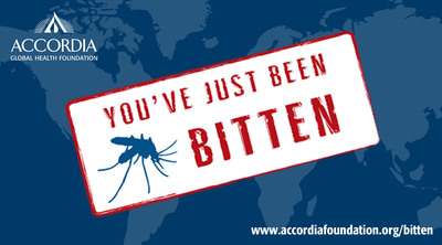 Join us in the fight against malaria. Learn more at www.accordiafoundation.org/bitten.