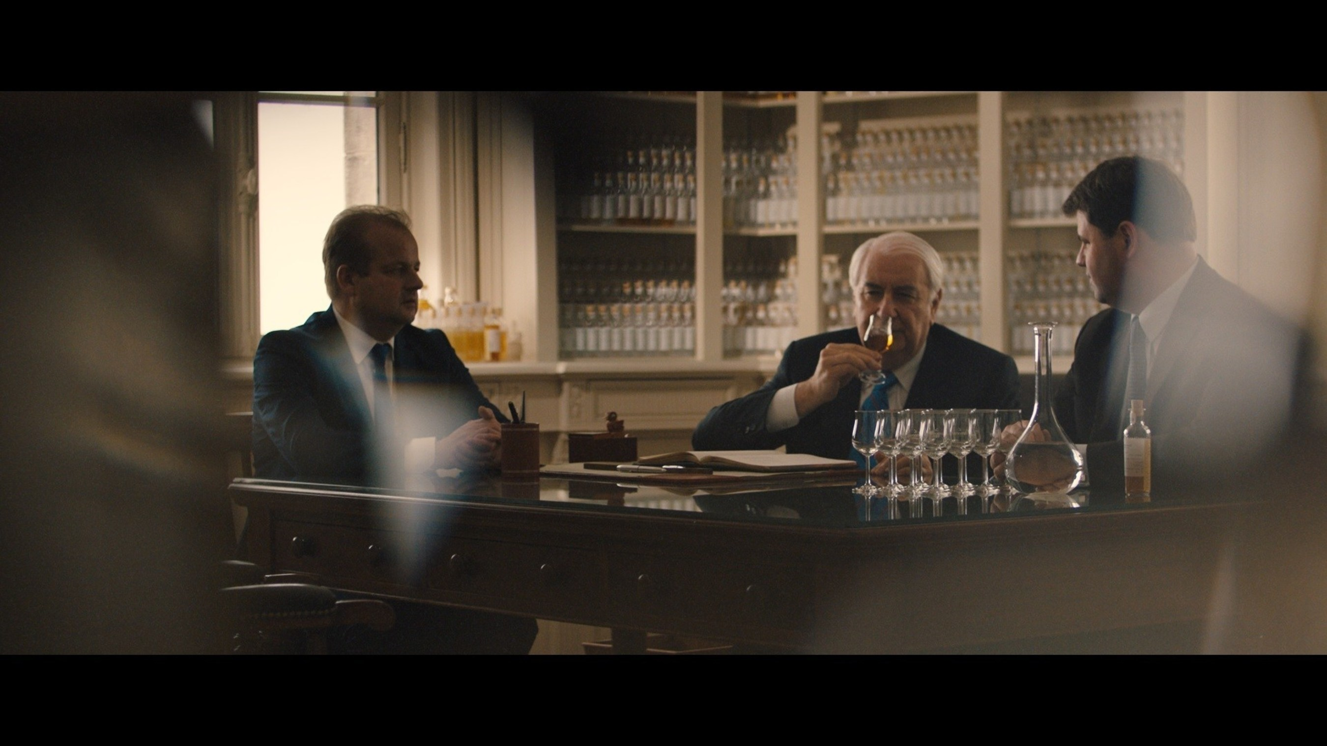 """Hennessy's Tasting Committee oversees the numerous, complex variables that are mastered in order to create the harmony and balance of Hennessy V.S.O.P Privilège in new """"Harmony. Mastered from Chaos."""" campaign."""