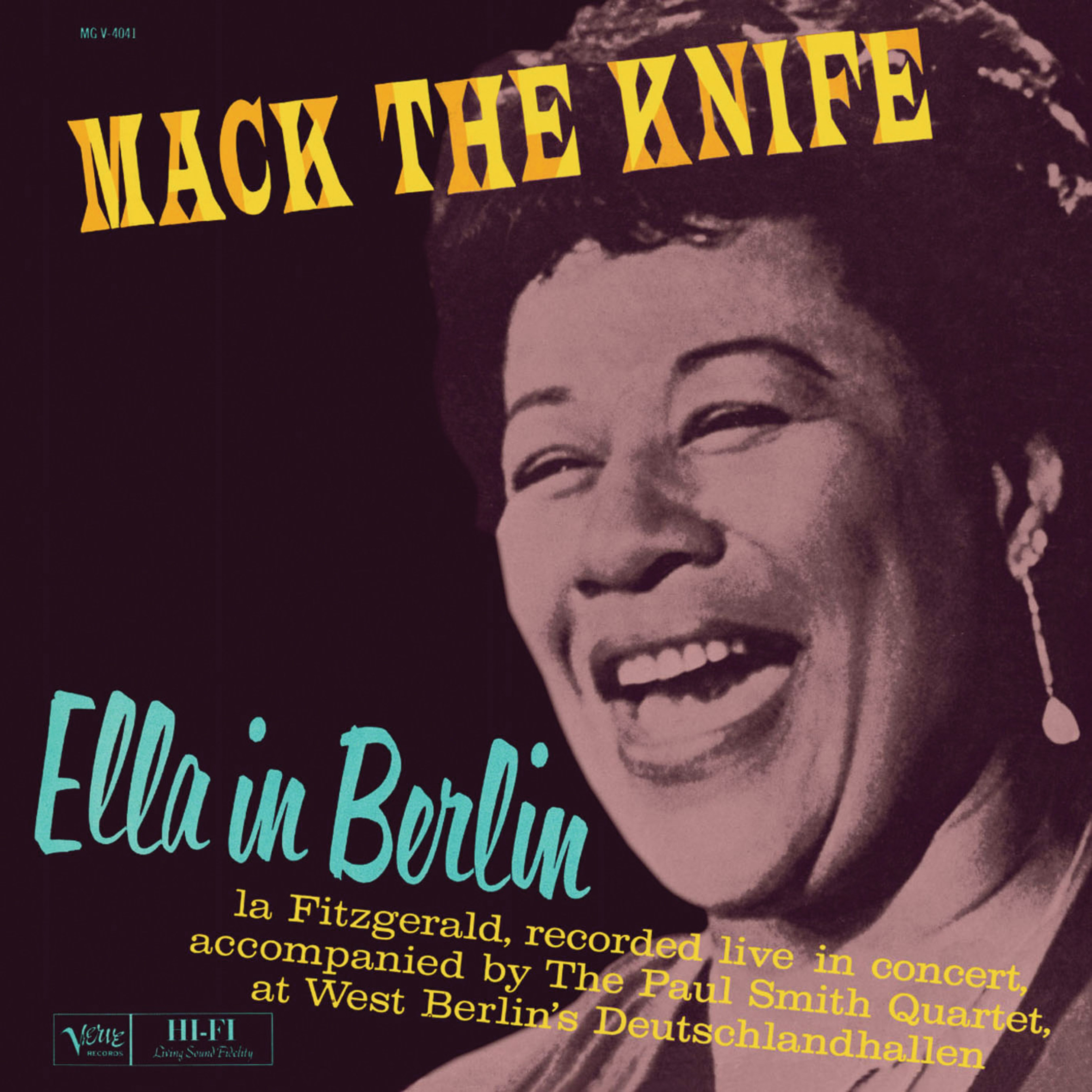 Verve Ume To Reissue Ella Fitzgerald S Mack The Knife