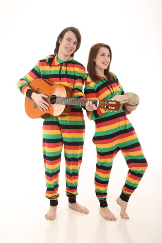 World Record Setting Reggae Adult Onesies from Funzee Now Available ... fe8852631