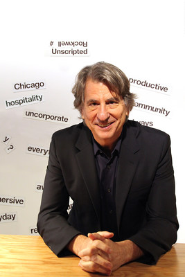 2016 Tony Award scenic design winner David Rockwell welcomed visitors to the Chicago workplace furniture show where he and furniture manufacturer Knoll are setting the stage set for today's immersive workplace with Rockwell Unscripted.