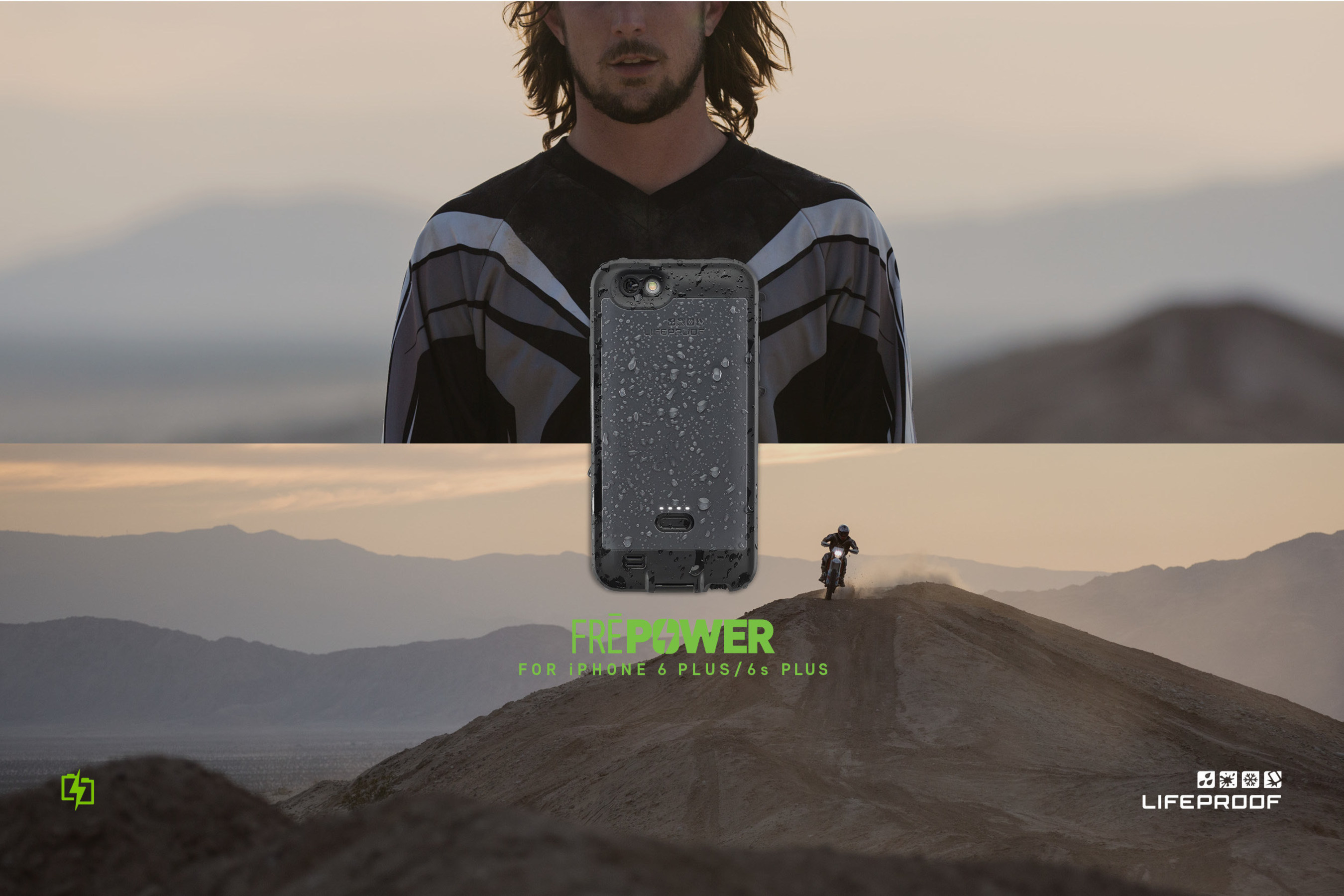 LifeProof Announces First Waterproof Battery Case for Plus-Sized iPhones