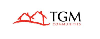 The new TGM Communities logo. (PRNewsFoto/TGM Associates L.P.)