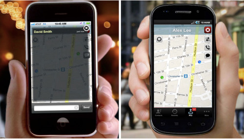 The Simple and Secure Way to Share Your Location.  (PRNewsFoto/Mapfia Inc.)