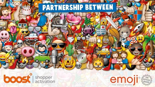 Boost acquires prestigious official emoji(R) licence. Boost Group starts exciting partnership with the emoji company to market the official emoji(R) brand and its popular library of high resolution icons. (PRNewsFoto/Boost Group)