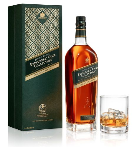 Johnnie Walker Unveils Second Blend From Johnnie Walker Explorers' Club - The Gold Route, Inspired