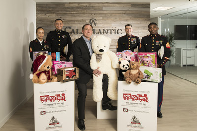 CalAtlantic Homes, one of the nation's largest homebuilders, today announced its 2016 national corporate sponsorship of Marine Toys for Tots Foundation. Now through Sunday, December 11, home shoppers are welcome to donate new, unwrapped toys at any of the Company's 565 model home communities across the country. For more information, please visit calatlantichomes.com